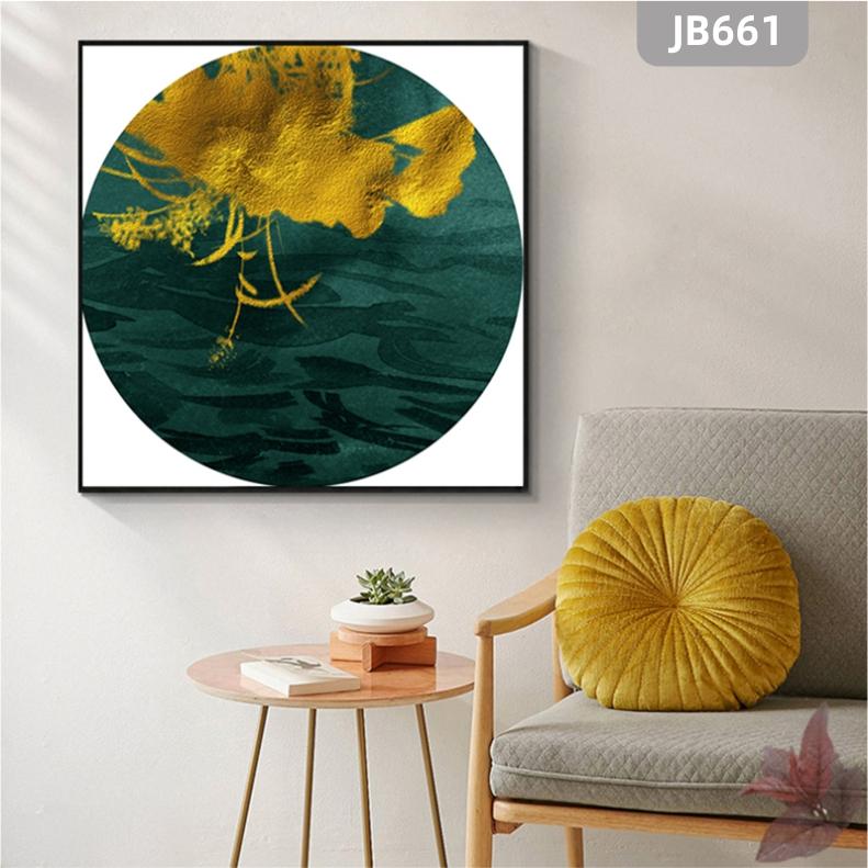 现代简约轻奢装饰画客厅沙发背景墙面挂画玄关卧室海洋风景挂画壁画