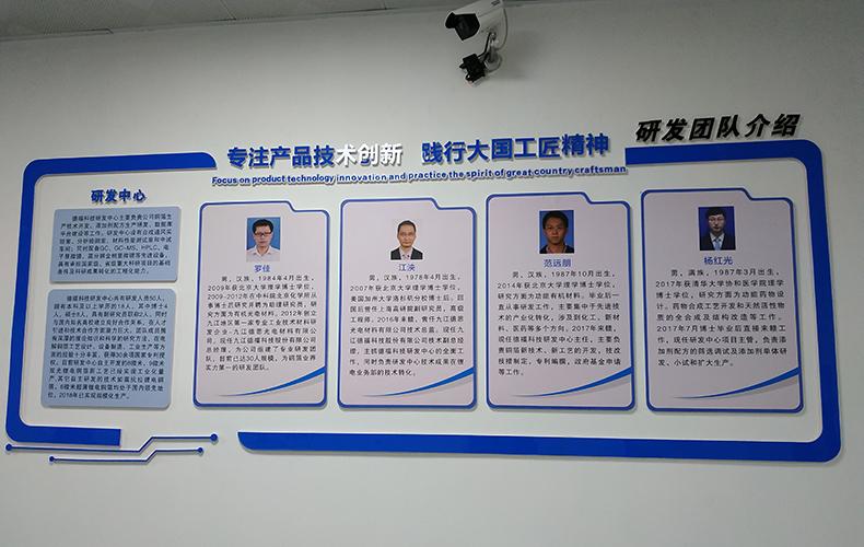 技研发团队文化墙PVC+亚克力材质